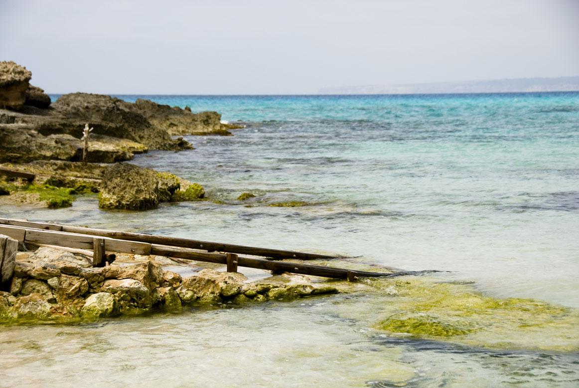 Es Calo D'es Morts, Migjorn, Formentera