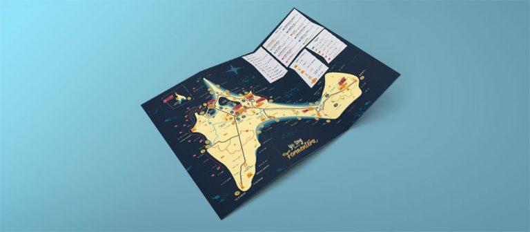 Mapa de Formentera