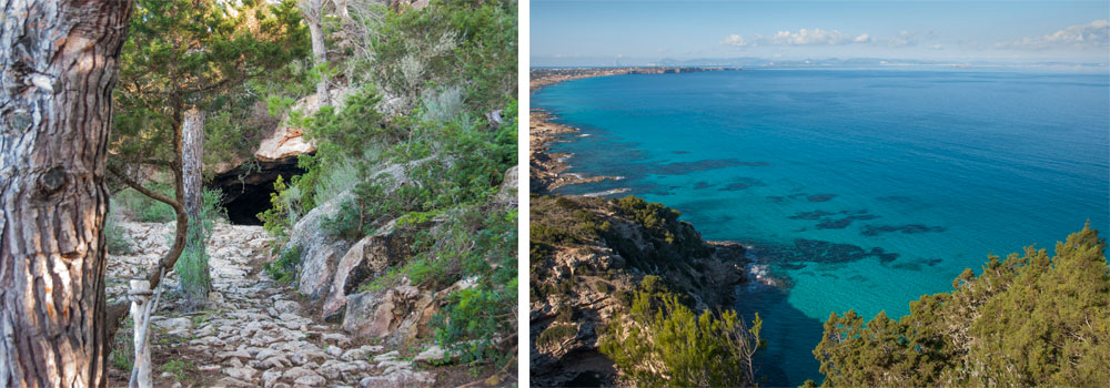 Rutas verdes en Formentera