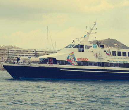 Llegar en Ferry a Formentera