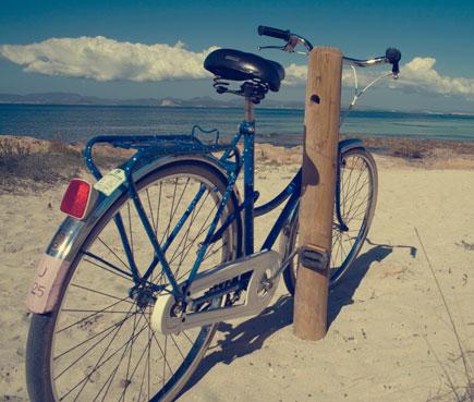 Moverse en bicicleta por Formentera