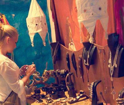 Mercado artesano de Sant Ferran
