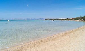 Playa Estany des Peix, perfecta para ir con niños