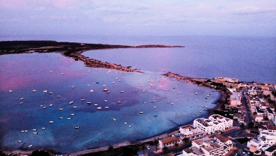 Sa Boca, s'Estany des Peix, Formentera