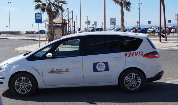Taxi in Formentera