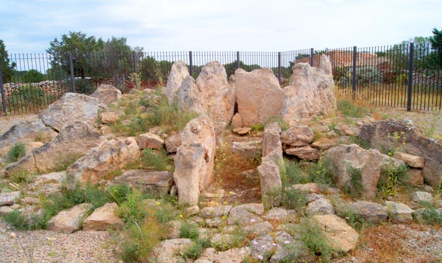 Yacimiento Megalítico de Ca Na Costa en Formentera