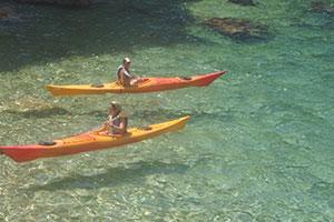 Kayak en Formentera