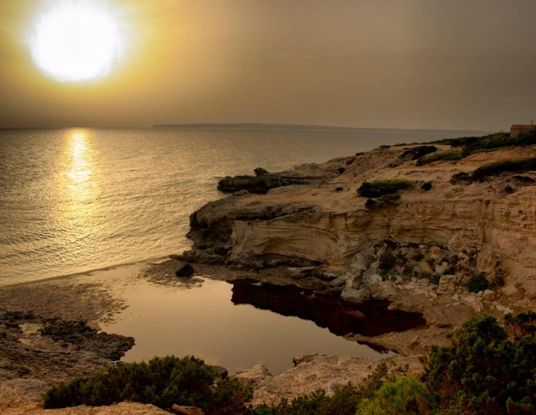 Atardecer en Playa de Es Ram