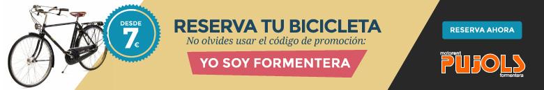 Reserva tu bici en Formentera