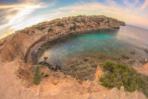 Cala en Baster en Formentera