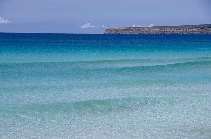 Es Arenals Beach, Formentera