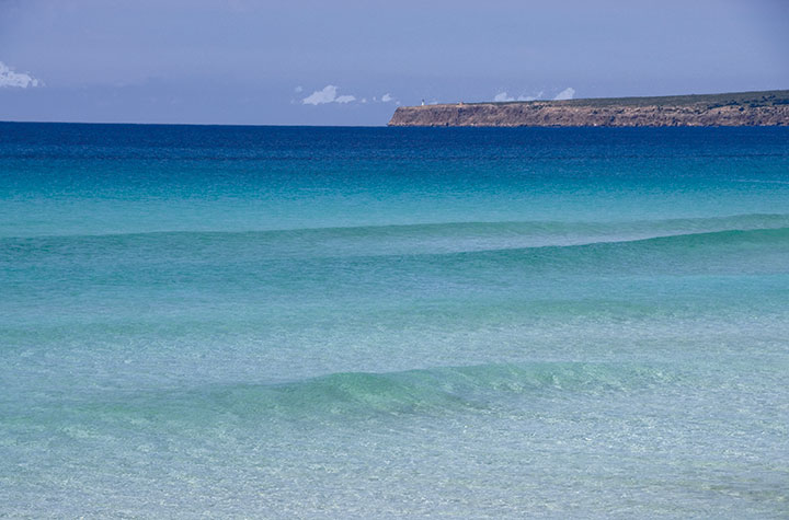 Spiaggia di Es Arenals, selvaggia