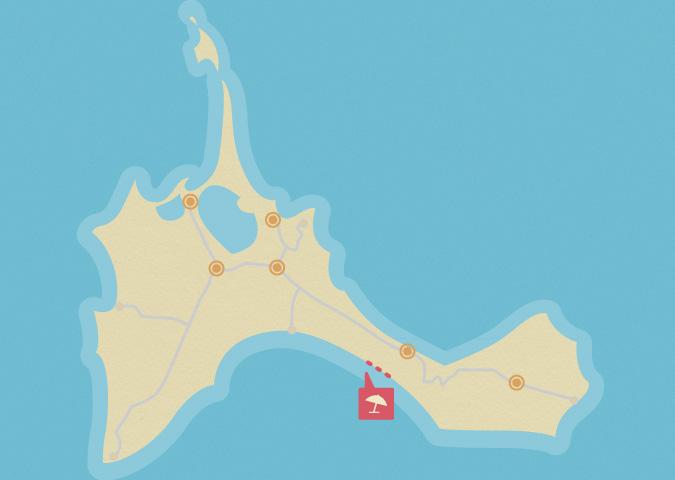 Come raggiungere l'intera spiaggia di Es Arenals
