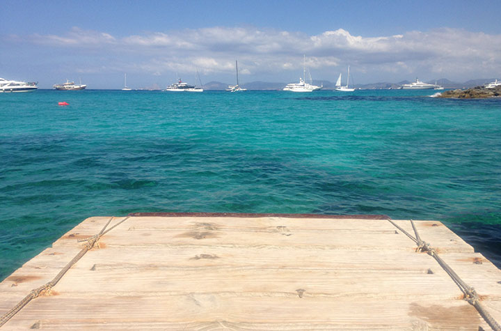 Vistas a Ibiza desde Es Moli Marroig