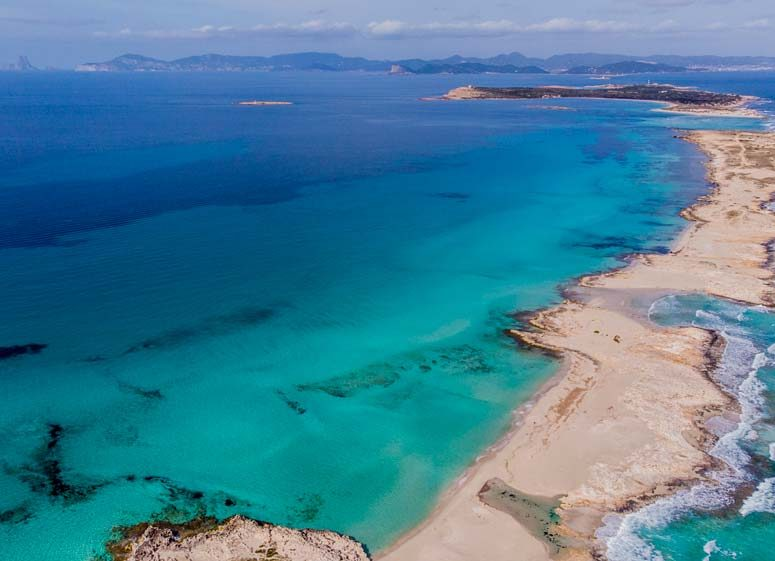Es Trucadors, Ses Illetes, Formentera