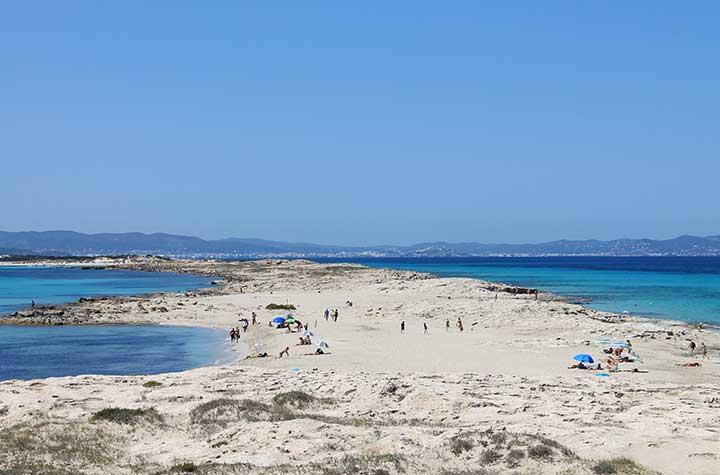 Lengua de Es trucadors en Formentera
