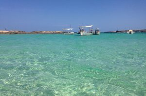 Aguas en Es Pujols, Formentera
