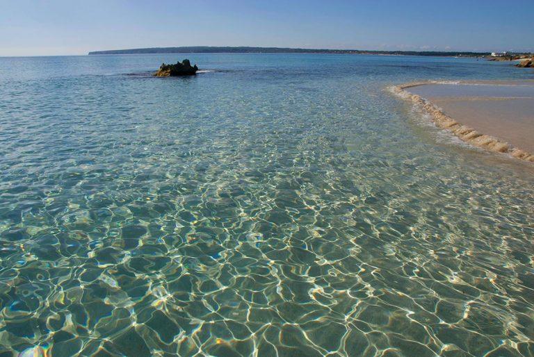 Playa de Migjorn en Formentera