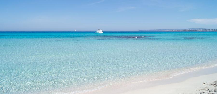 Playa de Llevant, Es Trucadors, Formentera, Islas Baleares