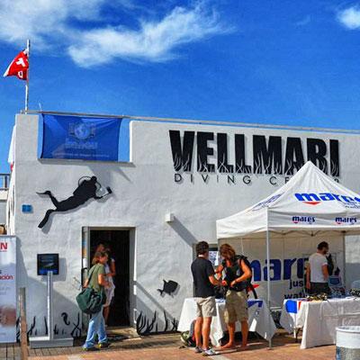 Vellmari, centro de submarinismo en Formentera