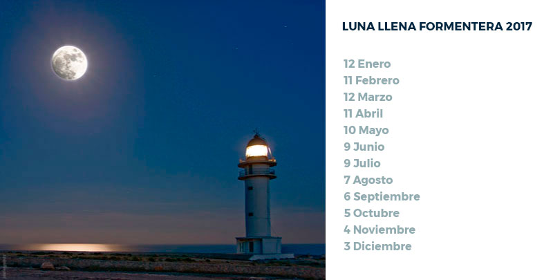 Luna llena en Formentera