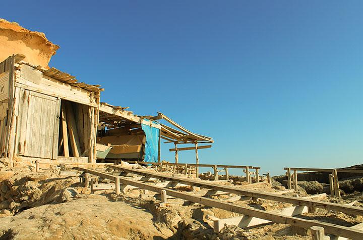 Cala d'es Morts en Formentera