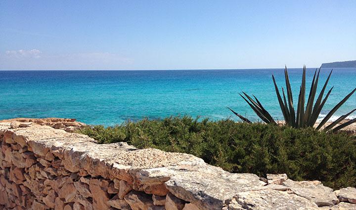 Playa de Tramuntana Formentera