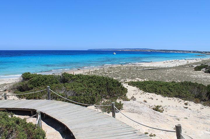 Playa de Levante Formentera