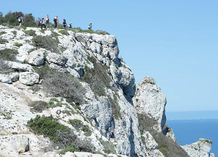 Walking Formentera