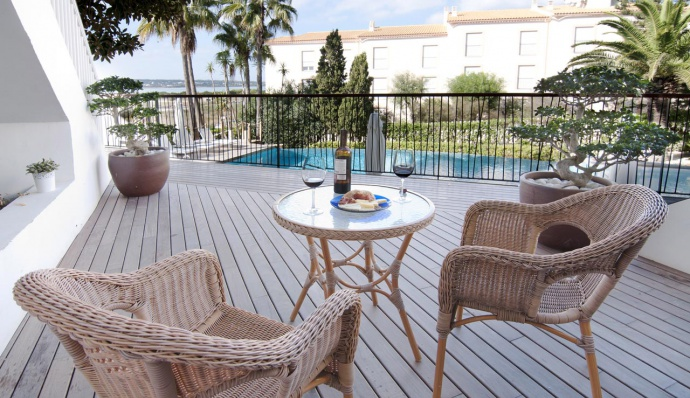 Apartamentos Castaví Formentera - Terraza Estudio