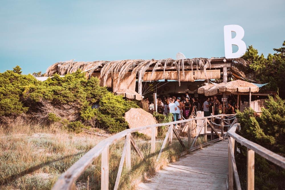 Pasarela a Beso Beach Formentera
