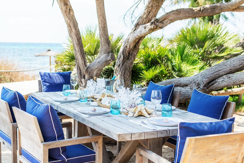 Comer en Hotel Gecko Beach Club Formentera