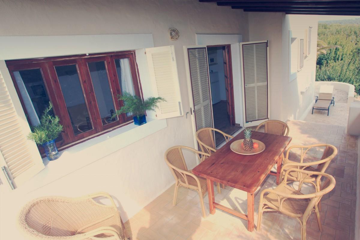 Hotel Las Dunas Formentera - Terraza chalet