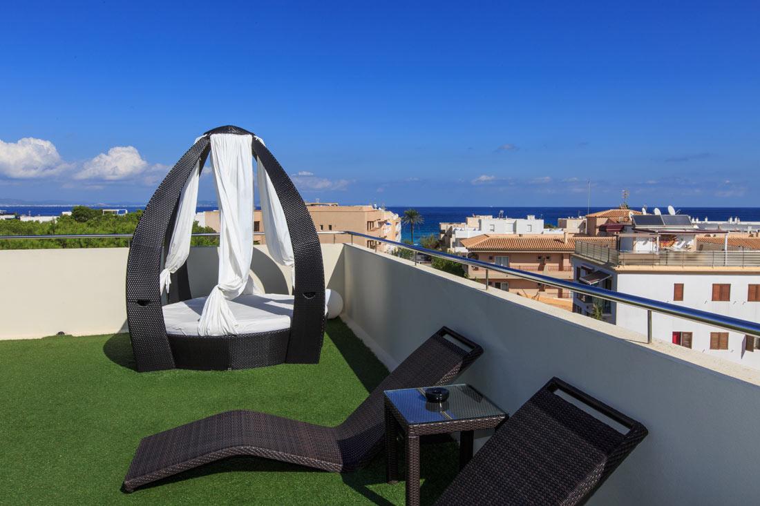 Hotel Sa Volta Formentera - Solarium 2