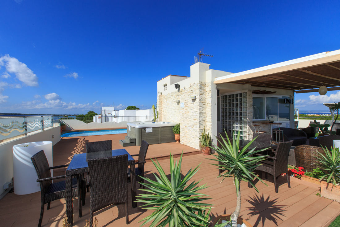 Hotel Sa Volta Formentera - Solarium