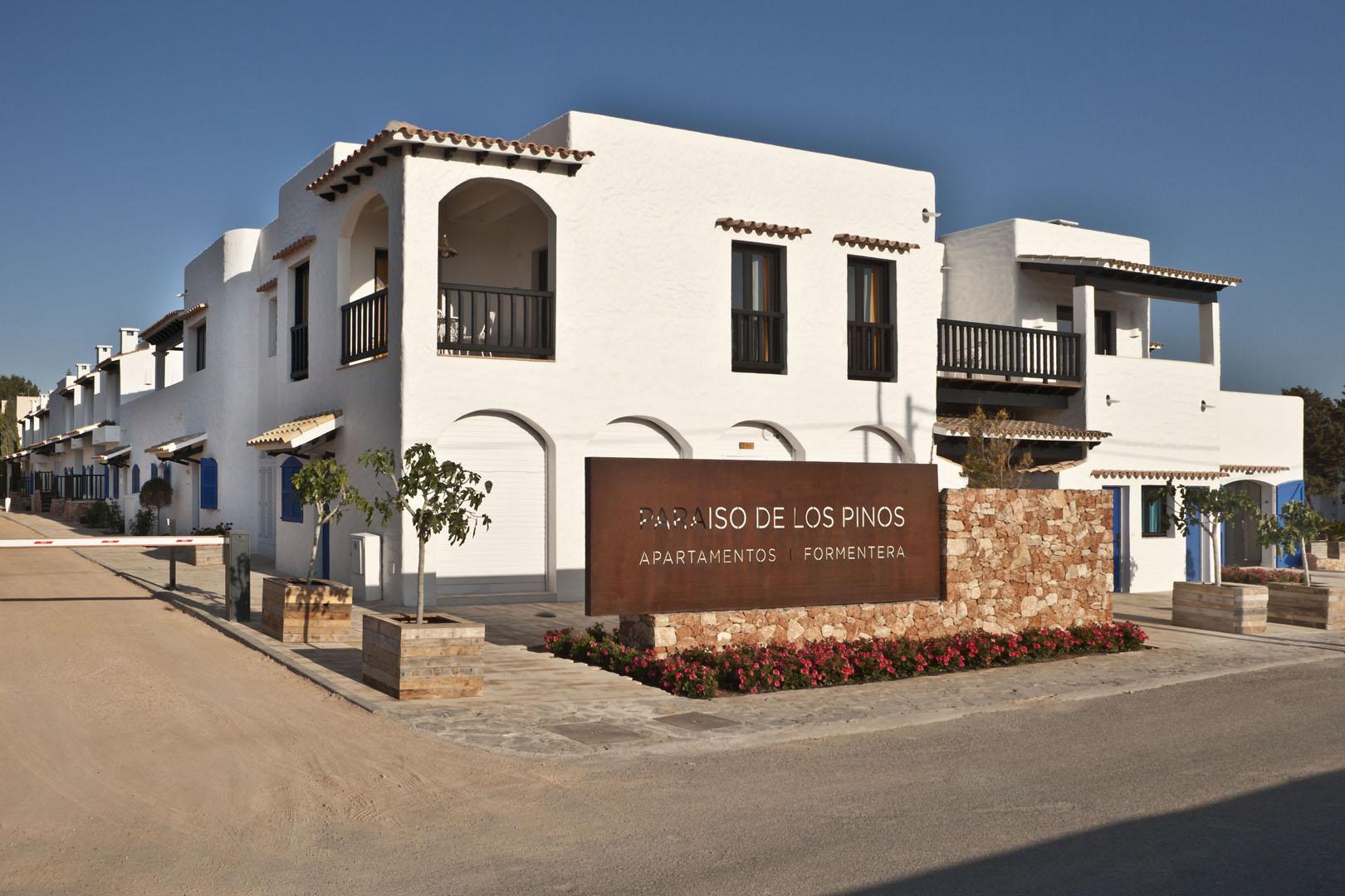 Paraíso de los Pinos Formentera - Entrada