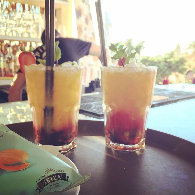Cocktail en Restaurante Pirata Formentera