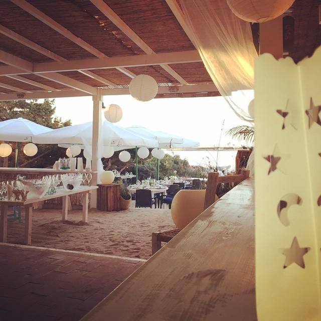 Restaurante Pirata Formentera, terraza