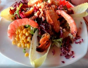 Ensaldada Restaurante El Mirador Formentera