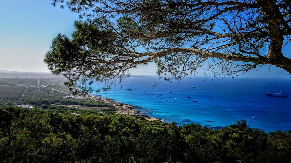 Tarde en Restaurante El Mirador en Formentera