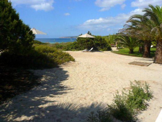 Talaya Formentera - Acceso a playa
