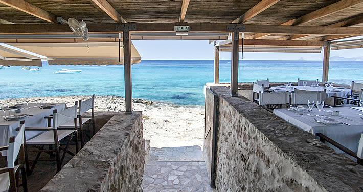 Vistas en Es Moli de Sal, Formentera