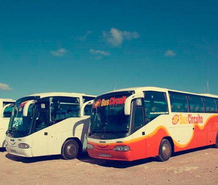 Autobús público en Formentera