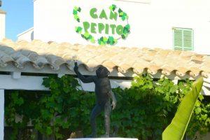 Fachada de Can Pepito Formentera