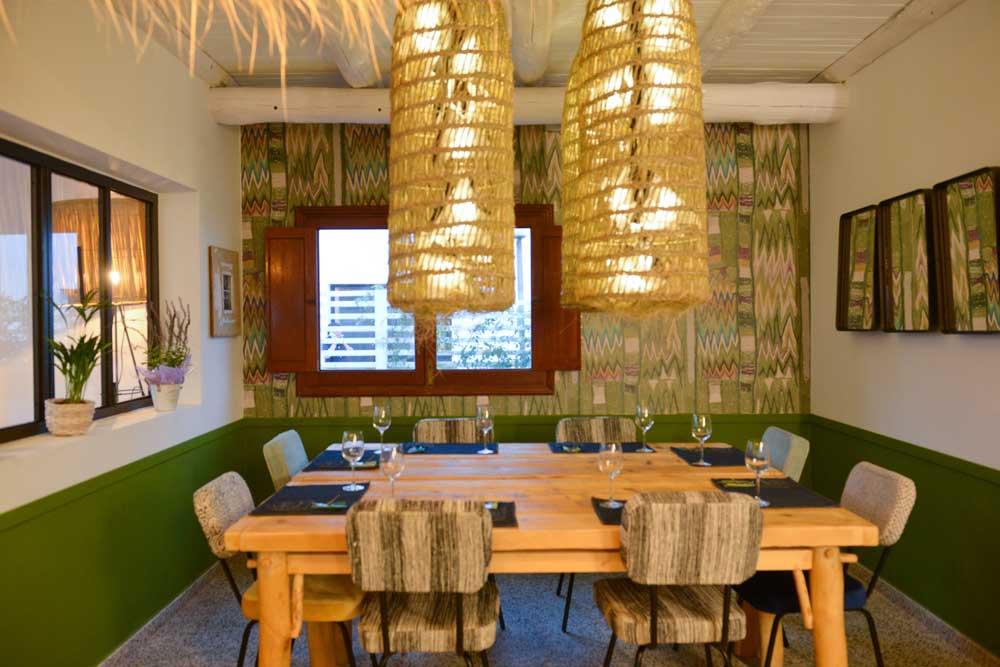 Salón en Restaurante Can Pepito