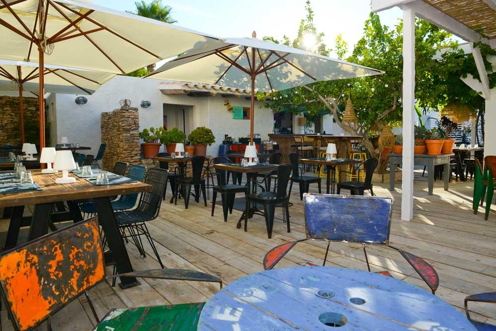 Terraza en Restaurante Can Pepito