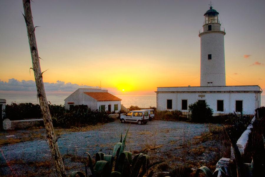 Faro de la Mola en Formentera