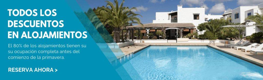 Reserva ahora tu alojamiento en Formentera