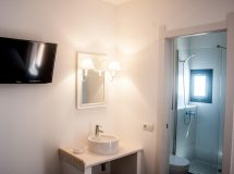 Hostal Bon Sol Formentera, baño