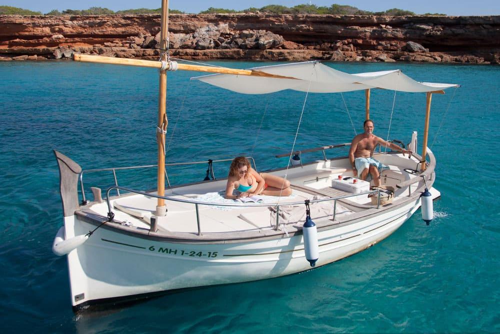 Alquiler de barco en Formentera